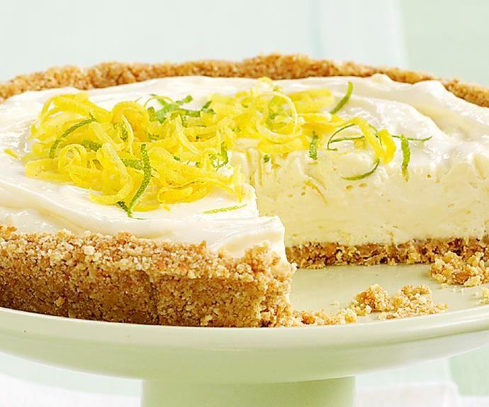 How To Make A Classic Lemon Cheesecake Recipe In 2020 Cheesecake Recipes Lemon Cheesecake Recipes No Bake Lemon Cheesecake