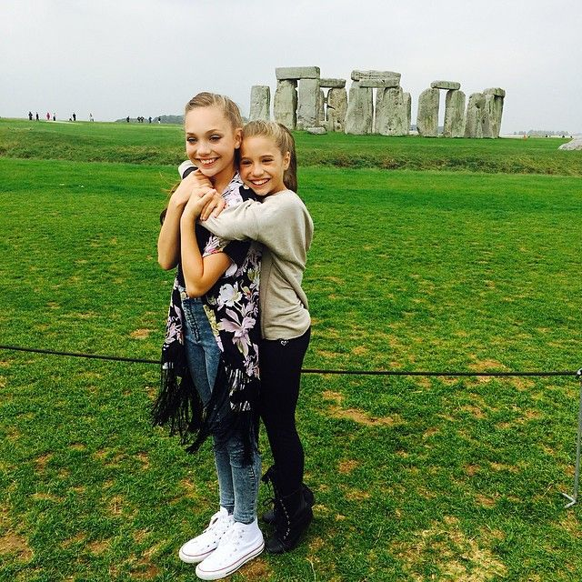Maddie Ziegler and Mackenzie Ziegler Europe Tour