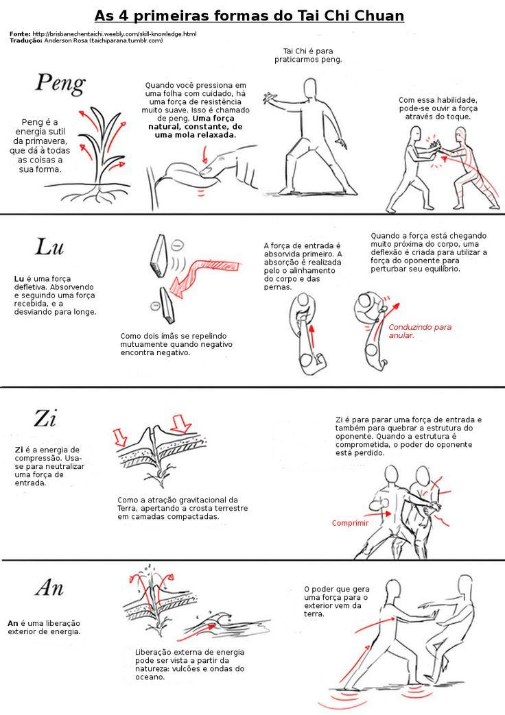 """Princípios da Prática do Chan Si Gong (Desenrolando o Fio de Seda) Alguns pontos adicionais para os praticantes do Tai Chi Chuan quando estão aprendendo o """"desenrolando o Fio de Seda"""" (Chan Si Gong).  Posteriormente, traremos mais dicas e traduções. A fonte está na própria imagem."""
