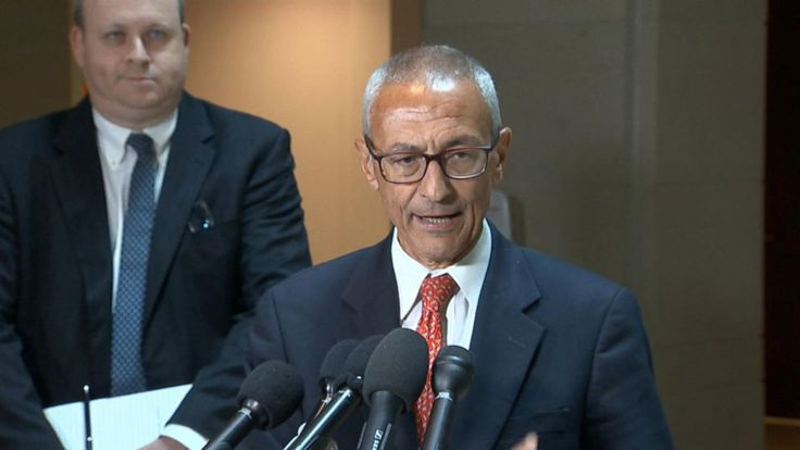 """Hillary Clinton's 2016 campaign chairman, John Podesta, went to Capitol Hill on Tuesday for a closed-door hearing with the House Intelligence Committee investigating Russian interference in the election.   Speaking to reporters after the hearing, Podesta said he was asked """"to come... - #Campaign, #Chair, #Clintons, #Defends, #Obama, #Response, #TopStories"""