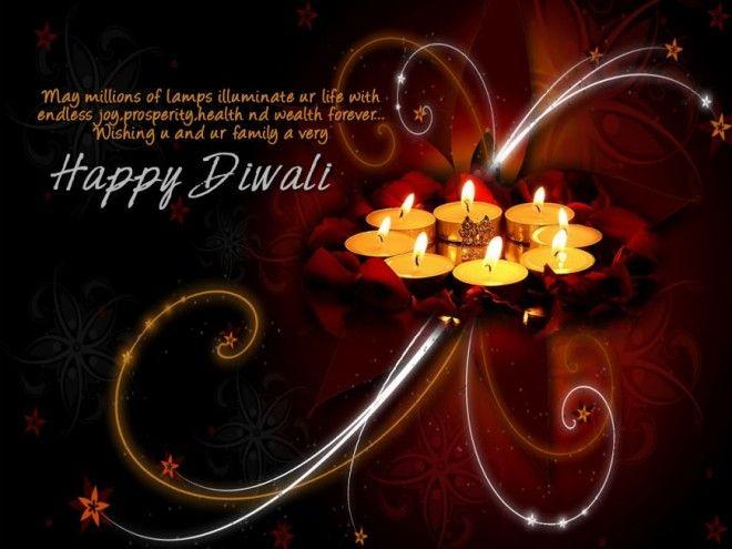 colorful diwali greetings