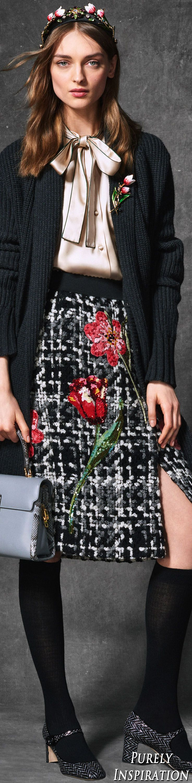 Dolce & Gabbana FW2016 Winter Wonderland Collection | Purely Inspiration