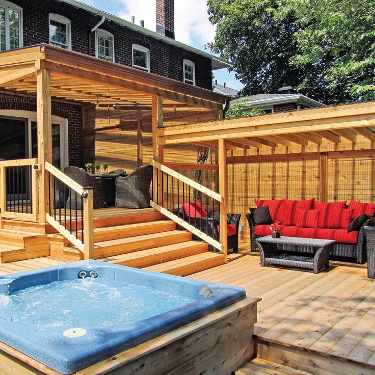 Les 78 meilleures images propos de spa sur pinterest for Idee terrassement exterieur