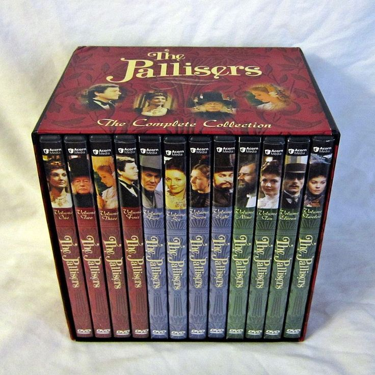 The Pallisers The Complete Collection DVD Box Set 12 Disc + Booklet Acorn Media