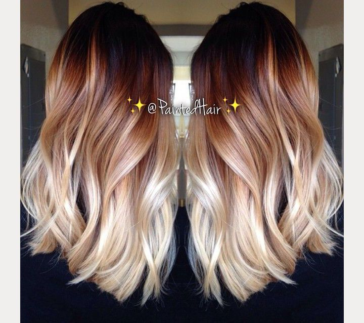 Awesome 1000 Ideas About Ombre Hair On Pinterest Hair Ombre And Hair Short Hairstyles For Black Women Fulllsitofus