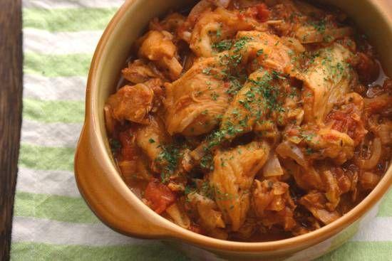 冷やしても美味しい!車麩とツナのトマト煮 - 千種の、ほんまにうまいもんだけ。