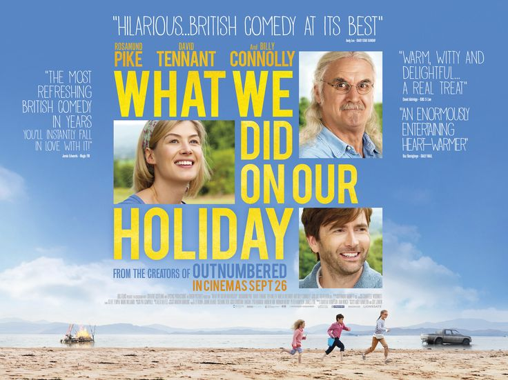 What We Did On Our Holiday | Stu Loves Film
