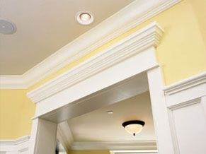 Interior crown moulding and millwork images pvc wood for Pvc mouldings interior