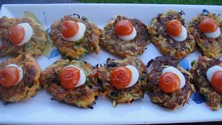 Mums in the Kitchen: Vegetable Fritters