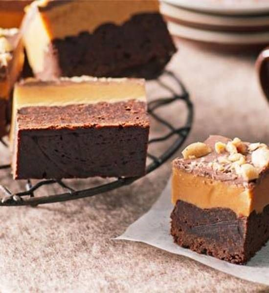 Peanut butter slice  - Better Homes and Gardens - Yahoo!7