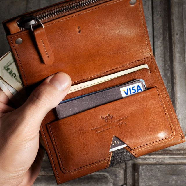 Zip Wallet from Hard Graft