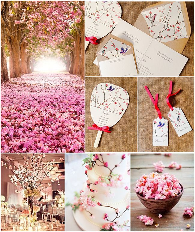 Una boda con la flor de cerezo como motivo (Parte 2)