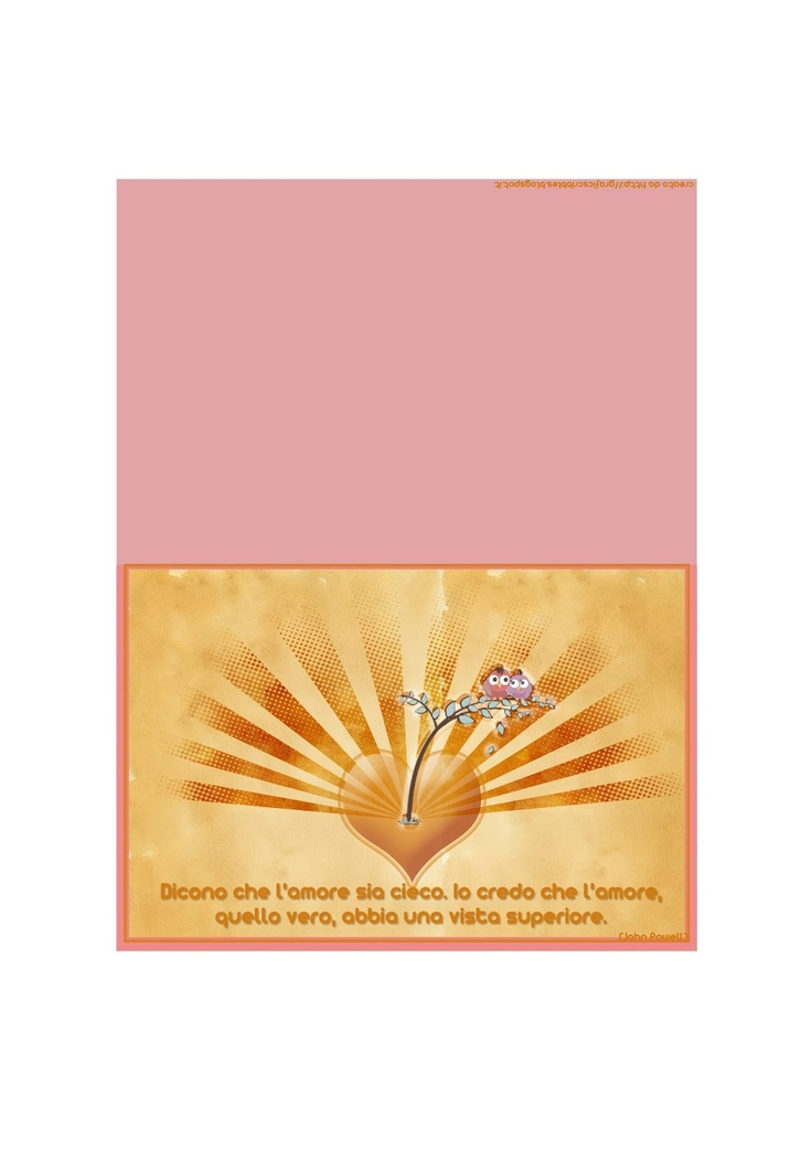 Grafic Scribbles: Due bigliettini per san Valentino stampabili e free