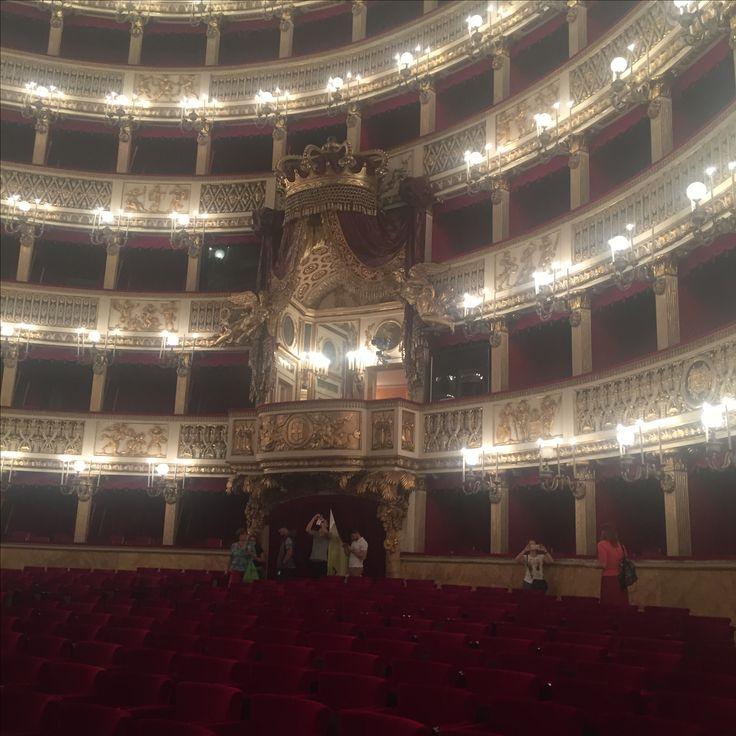 Royal box...San Carlo Opera house Naples