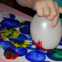 Pintar amb globus