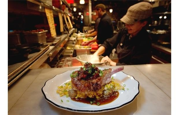 Fine dining: Montreal's Garde Manger hasn't lost its cool, promising an experience filled with good food, low lighting, and energetic music
