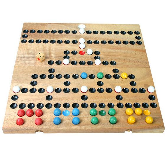 Barricade wooden game on Etsy, $28.95