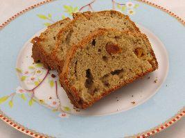 VZL snack: Cake van amandelmeel met gedroogde abrikozen