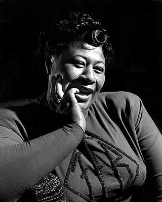 """Ella Fitzgerald (1917-1996) was an American jazz singer often referred to as the First Lady of Song, Queen of Jazz, and Lady Ella. She was noted for her purity of tone, impeccable diction, phrasing and intonation, and a """"horn-like"""" improvisational ability, particularly in her scat singing."""