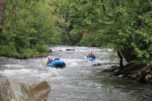 River Rafting on the Nantahala Gorge, North Carolina