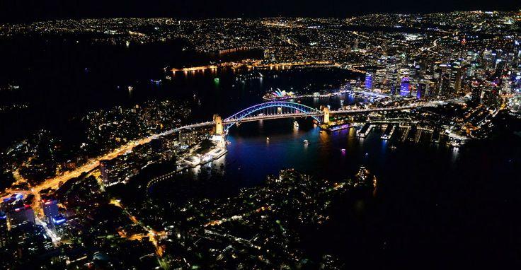 Sydney, City of Lights.