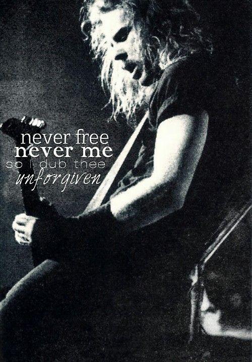 James Hetfield. Frontman, cantante y guitarrista de la banda de trash metal, Metallica