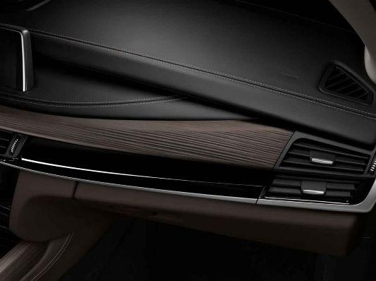 Mocha Leather With Fineline Pure Wood Trim Bmw