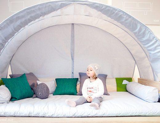 """Nachhaltiges Kinderbett: """"kidd"""" von """"guut"""" wird nachhaltig erzeugt, wächst mit und kommt gänzlich ohne Metall aus: Das Vollholzbett wird in liebevoller Handarbeit in Österreich produziert. Auf Mini and Me liest du alles über das geniale Produkt"""
