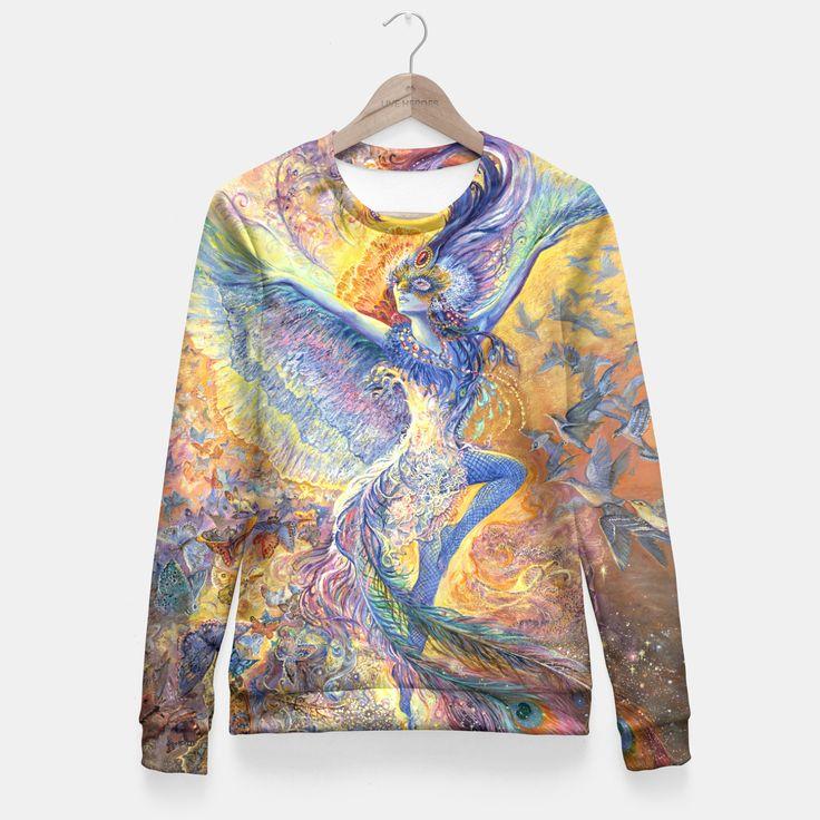 Blue Bird Fitted Waist Sweater by Josephine Wall 49.95€