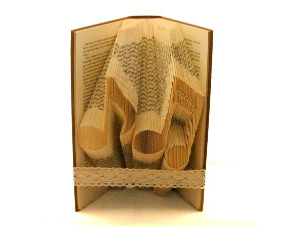 Umschlag Aus Papier Falten Folded Book Art Pattern To Fold Musical Notes Into By