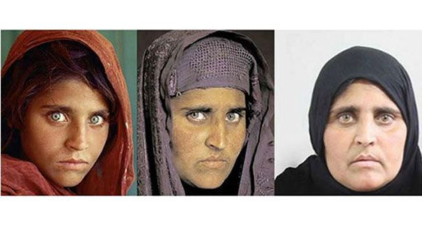 'Afgan kızı'nın son hali