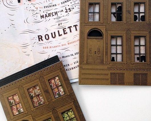 Paper Brownstones : Kelli Anderson in Trouwkaart