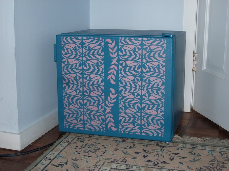 Style Key West Decor | Blog: How To Paint A Refrigerator