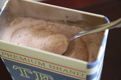Delicious Drink Mixes: DIY Creamy Hot Cocoa or Vanilla Chai Tea Mix from MomAdvice.com.