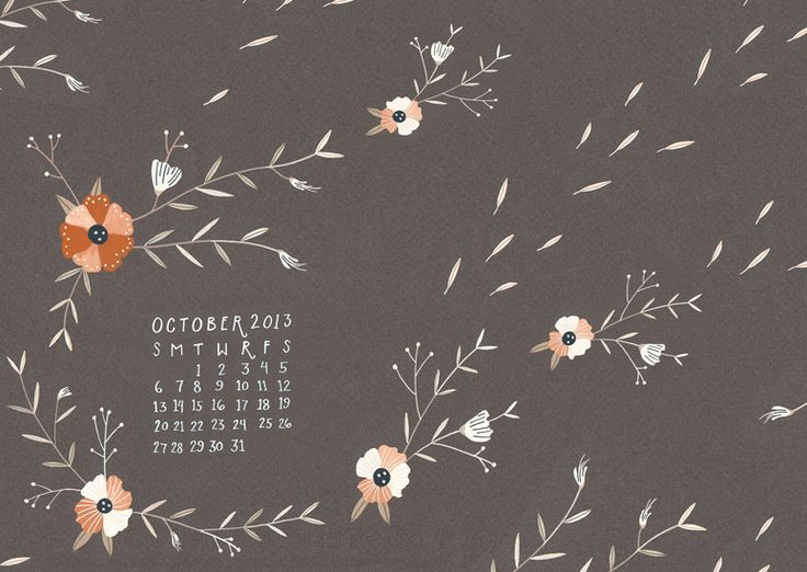 My October Ca Dar Desktop
