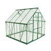 Shop Palram 8.1-ft L x 8-ft W x 7.5-ft H Aluminum Polycarbonate Greenhouse at Lowes.com
