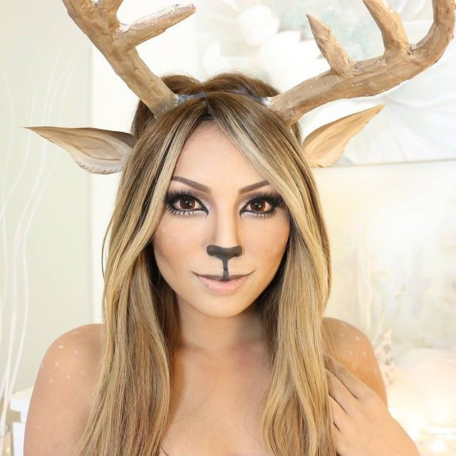 Did you guys watch my Reindeer Makeup Tutorial with the magic Snow globe !? Wasn't planning on doing a tutorial but since you guys insisted Share your reindeer look for a chance to be featured on my Insta ✌️