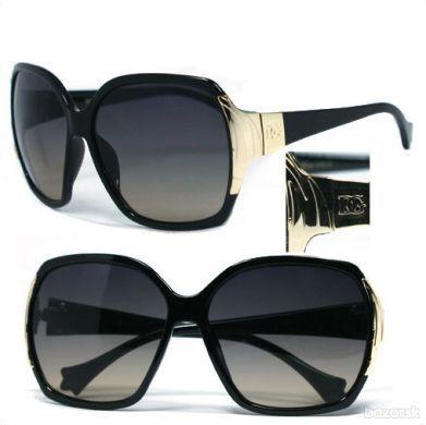 Dámske slnečné okuliare DG Desinger black/gold
