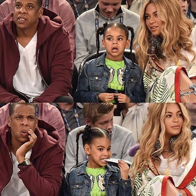 "1,240 Likes, 5 Comments - Blue Ivy Carter (@blueivy.carter) on Instagram: ""FAMILY"""