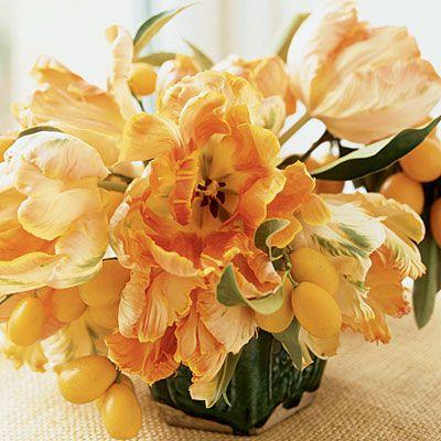 Wedding Flower Arrangements - Sunset