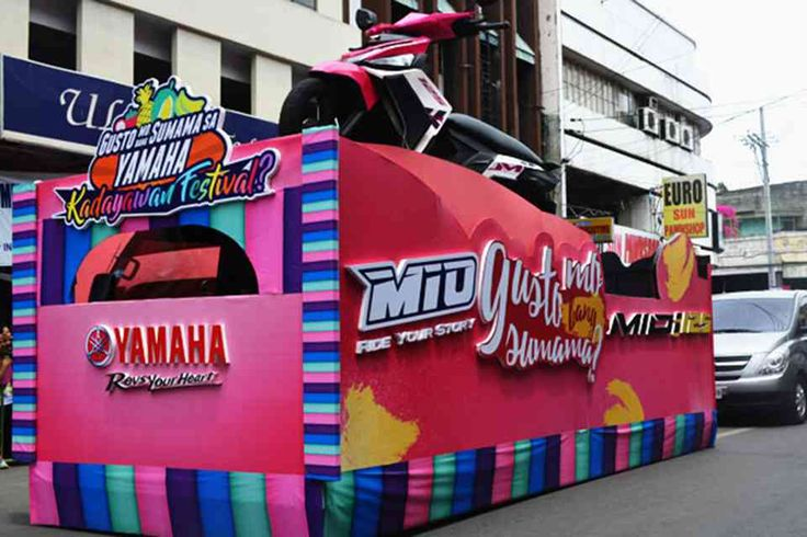 #birmingham Yamaha Philippines joins Davao's Kadayawan Festival  Yamaha Motor Philippines, Inc. joined in the week long Kadayawan Festival, an annual fete in Davao City held every 3rd week of August. http://www.autoindustriya.com/motorcycle-news/yamaha-philippines-joins-davao-s-kadayawan-festival.html