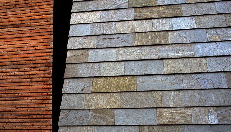 Kystverket i Ålesund, Norge - Ottaskifer fra Minera