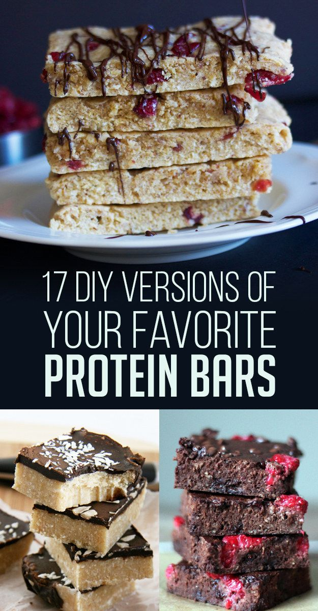 17 DIY Versions Of Your Favorite Protein Bars