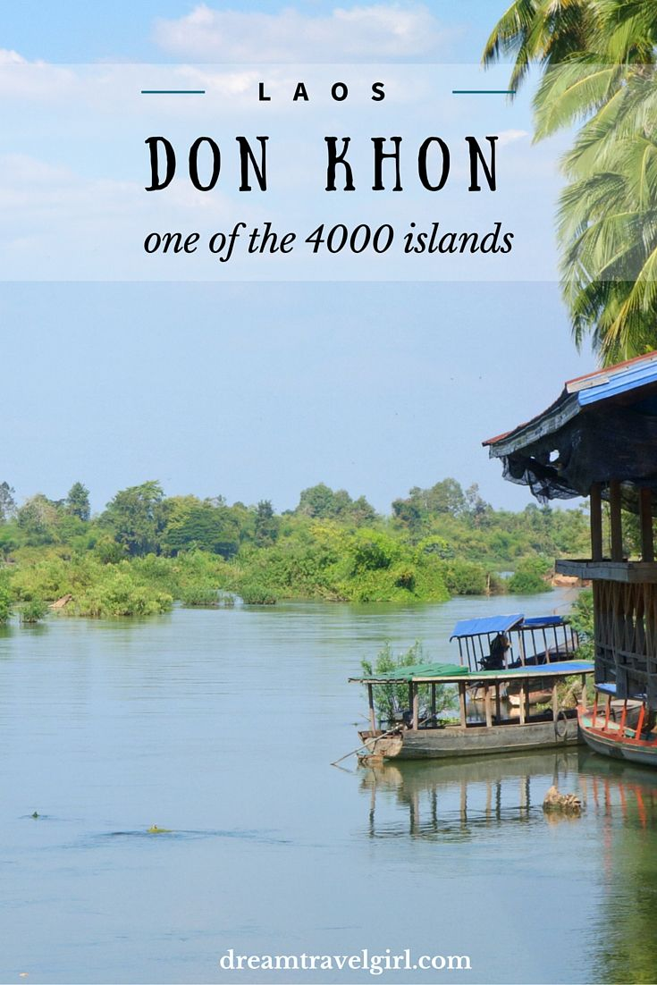 Laos has no sea but has 4000 islands in the Mekong. Don Det is the most famous island, but Don Khon is more authentic and quiet, and equally beautiful.
