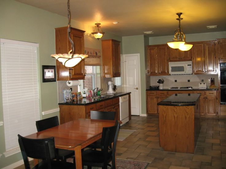 Oak Cabinets Paint Colors And Kitchen Paint Colors On Pinterest
