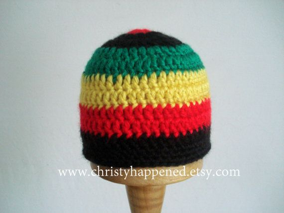 116 besten Rasta Beanies! Bilder auf Pinterest   Beanie mütze ...