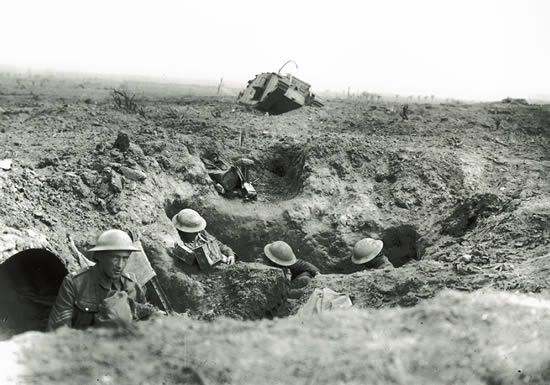 Britain at war | British trenches east of Zillebeke, Belgium, September 1917.
