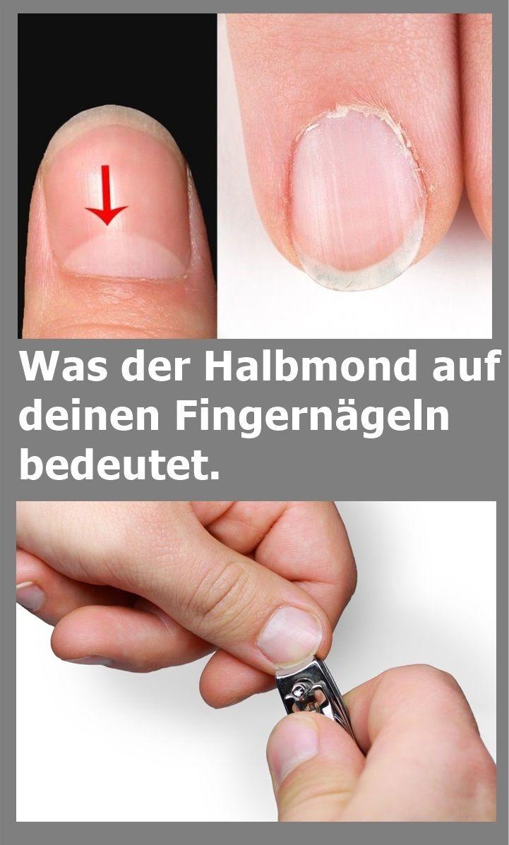 Was der Halbmond auf deinen Fingernägeln bedeutet. | njuskam!