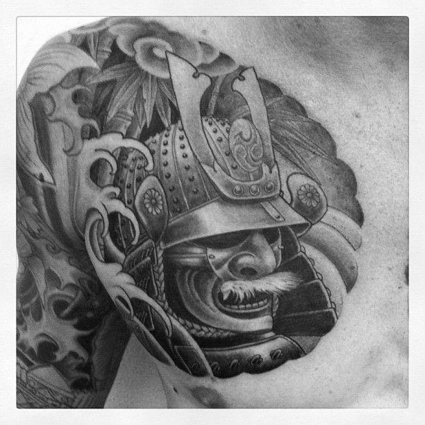 25 einzigartige samurai maske tattoo ideen auf pinterest. Black Bedroom Furniture Sets. Home Design Ideas