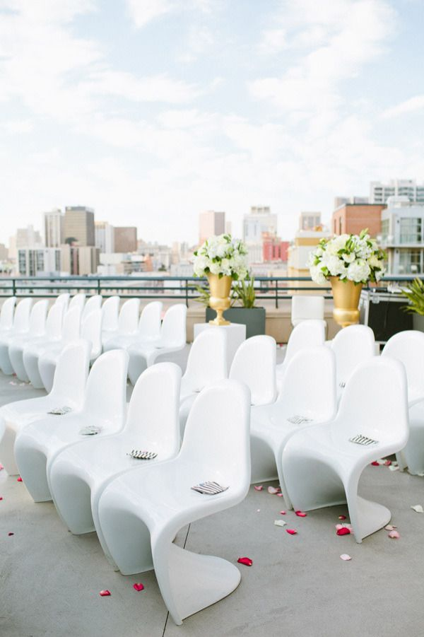 25 best Ceremony space images on Pinterest | Rooftop wedding ...